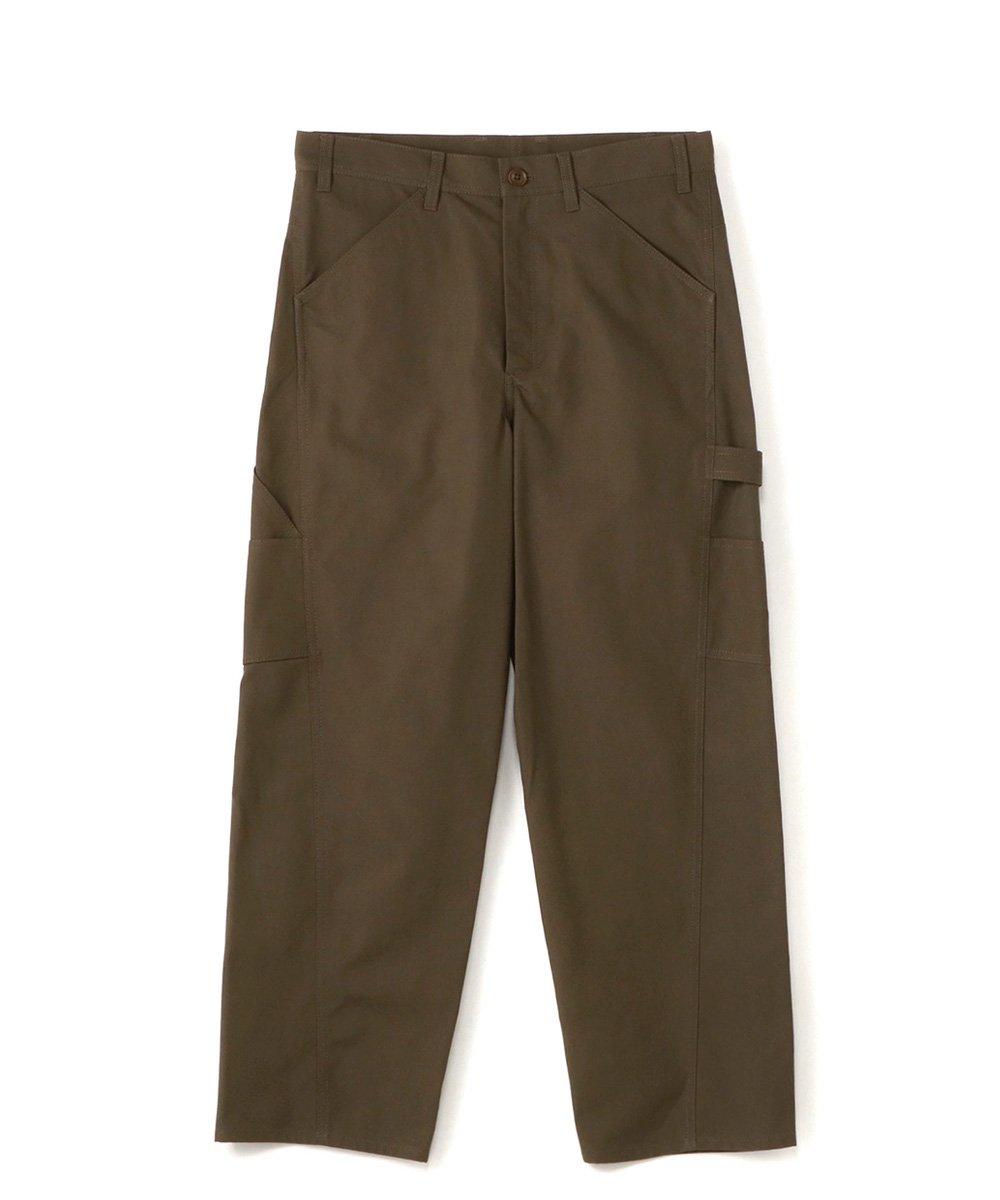 79A Cotton Canvas Slim Painter Pants / カーキ [GR-P05-006-1-03]
