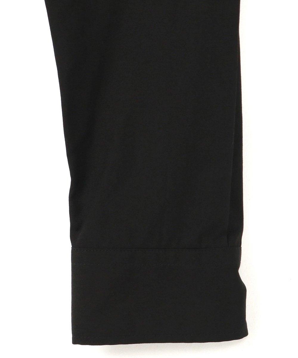 Cotton Broad Back Tape Shirt / ブラック [GR-B14-001-2-01]