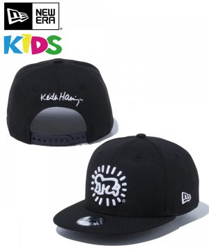<img class='new_mark_img1' src='https://img.shop-pro.jp/img/new/icons61.gif' style='border:none;display:inline;margin:0px;padding:0px;width:auto;' />Kid's Youth 9FIFTY Keith Haring キース・へリング ベイビー / ブラック [12551283]