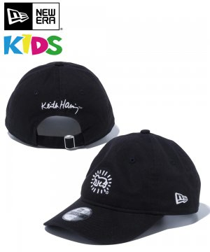Kid's Youth 9TWENTY Keith Haring キース・へリング ベイビー / ブラック [12551284]