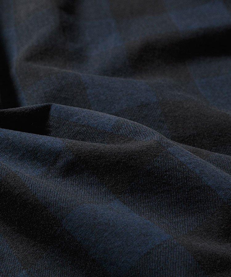 BUFFALO CHECK DENIM WESTERN SH / ブルー×ブラック(BPT) [2009-5002]