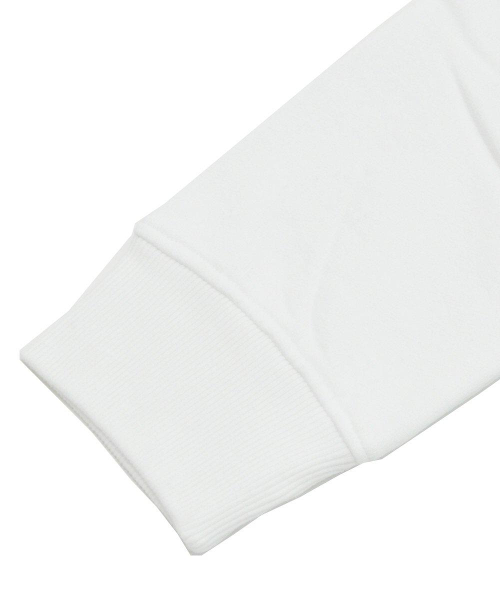 <img class='new_mark_img1' src='https://img.shop-pro.jp/img/new/icons5.gif' style='border:none;display:inline;margin:0px;padding:0px;width:auto;' />Branded long sleeve crew neck sweatshirt / ホワイト [282-23809]