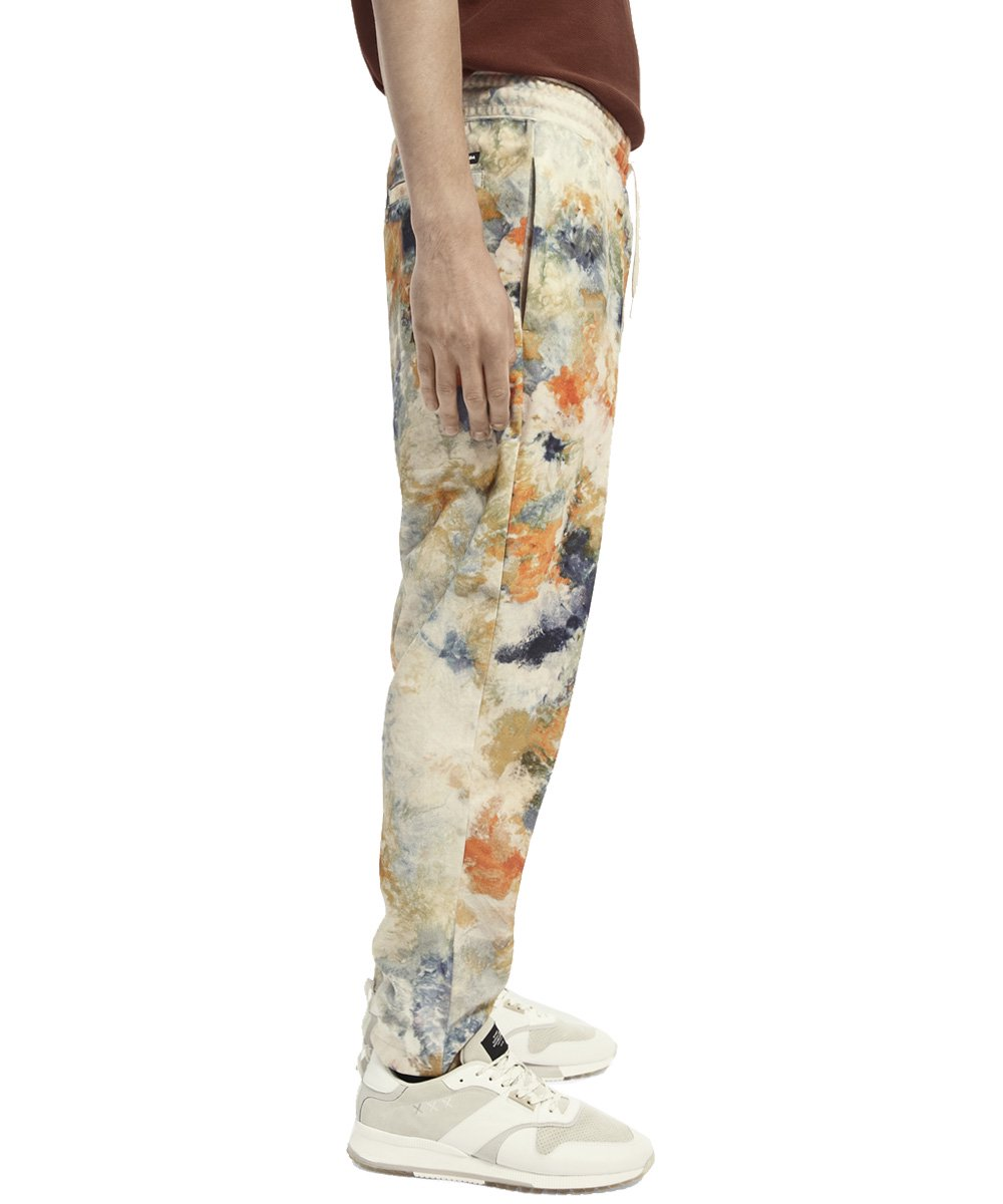 <img class='new_mark_img1' src='https://img.shop-pro.jp/img/new/icons5.gif' style='border:none;display:inline;margin:0px;padding:0px;width:auto;' />Relaxed tie-dye sweatpants / タイダイ [292-23501]