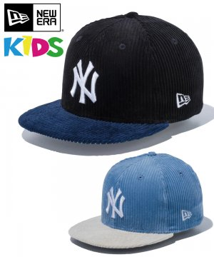 <img class='new_mark_img1' src='https://img.shop-pro.jp/img/new/icons61.gif' style='border:none;display:inline;margin:0px;padding:0px;width:auto;' />Kid's Youth 9FIFTY ニューヨーク・ヤンキース コーデュロイ / 2カラー