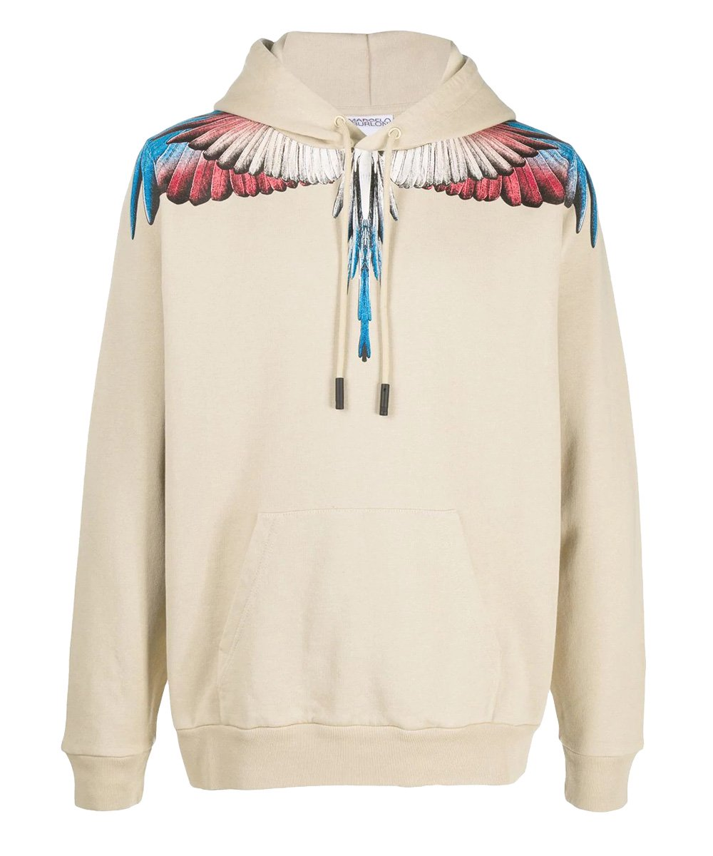 <img class='new_mark_img1' src='https://img.shop-pro.jp/img/new/icons5.gif' style='border:none;display:inline;margin:0px;padding:0px;width:auto;' />WINGS REGULAR HOODIE / ベージュ×バーガンディー [CMBF20-075]