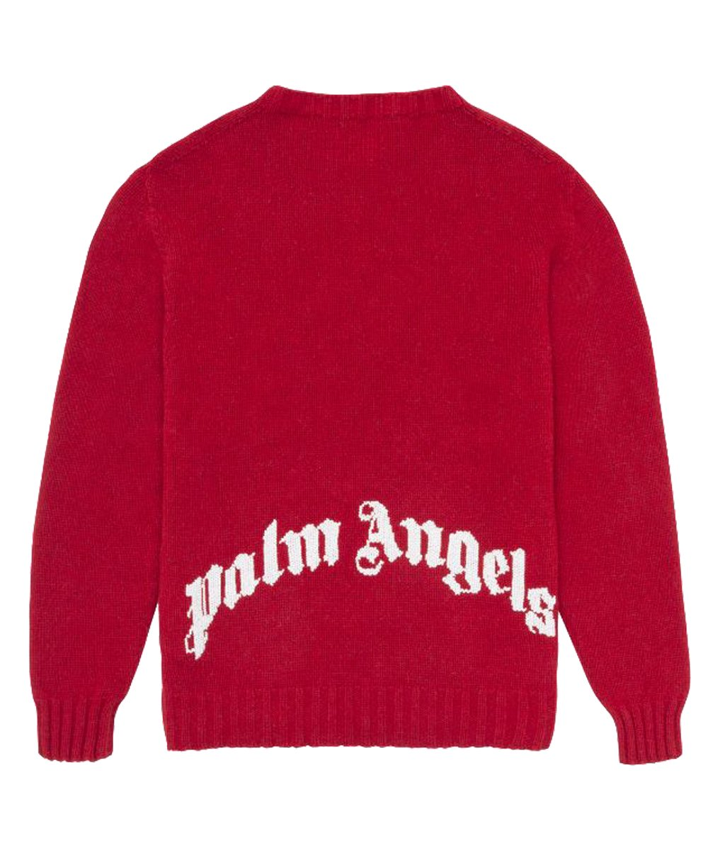 <img class='new_mark_img1' src='https://img.shop-pro.jp/img/new/icons5.gif' style='border:none;display:inline;margin:0px;padding:0px;width:auto;' />REC LOGO SWEATER / レッド [PMHF20-193]