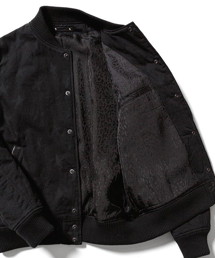 SHADOW STAR DENIM VARSITY JKT / ブラック(BSP) [2010-8001]