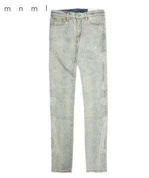 <img class='new_mark_img1' src='https://img.shop-pro.jp/img/new/icons5.gif' style='border:none;display:inline;margin:0px;padding:0px;width:auto;' />X199 STRETCH SKELETON DENIM / ライトブルー