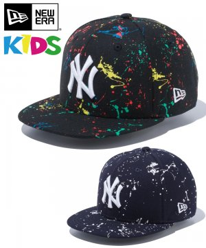 Kid's Youth 9FIFTY ニューヨーク・ヤンキース スプラッシュペイント / 2カラー