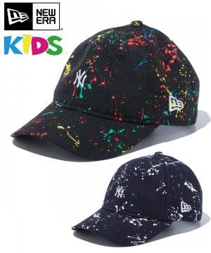 Kid's Youth 9TWENTY ニューヨーク・ヤンキース スプラッシュペイント ミニロゴ / 2カラー