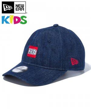 Kid's Youth 9TWENTY TOMICA トミカ ミニロゴ / デニム × ラディアントレッド [12551602]