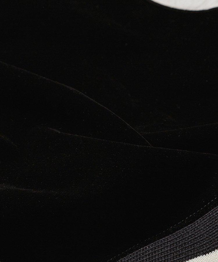 VELVET DENIM VARSITY JKT / ブラック(BSP) [2010-8002]