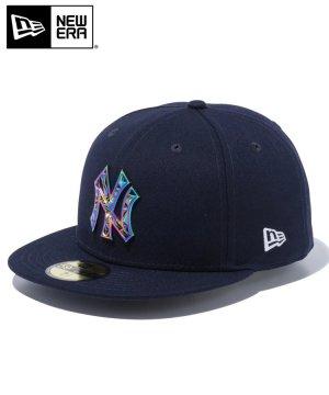 59FIFTY ニューヨーク・ヤンキース MLBメタルバッジ / ネイビー [12540868]