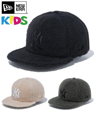 Kid's Youth 9FIFTY ニューヨーク・ヤンキース ボアフリース / 3カラー