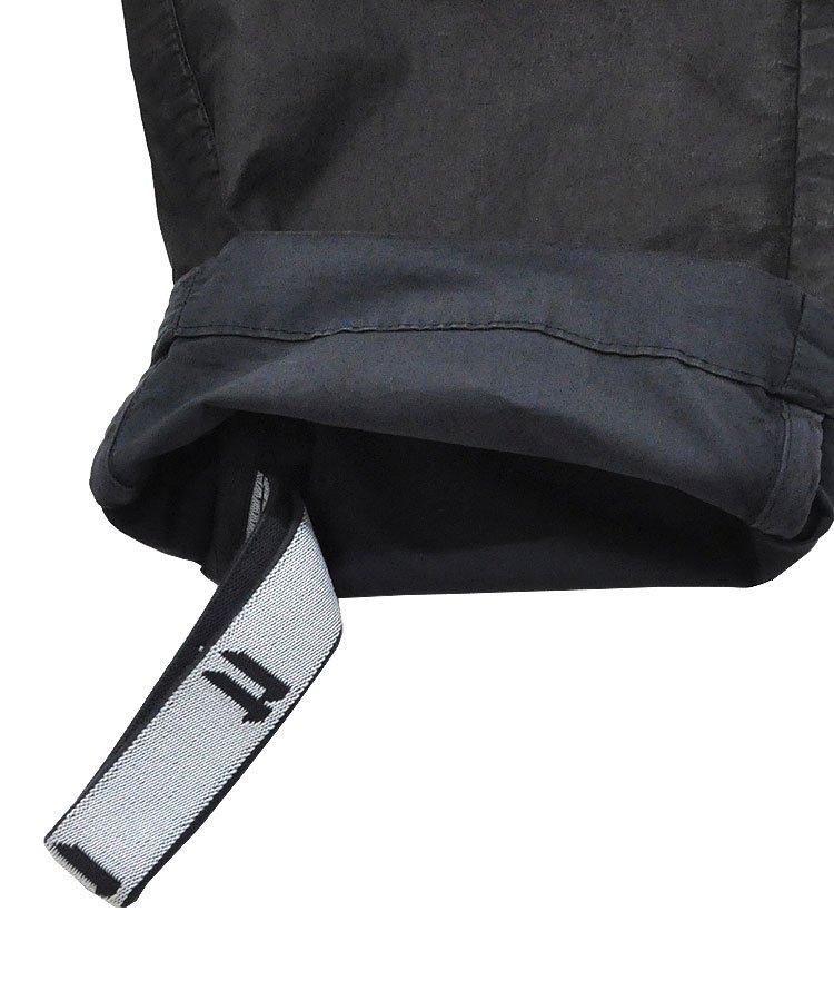 COATING CARGO PANTS / ブラック(ダークブルー) [P21B F-1426]