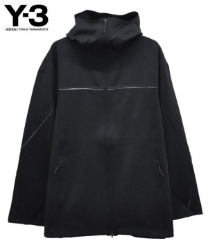 <img class='new_mark_img1' src='https://img.shop-pro.jp/img/new/icons5.gif' style='border:none;display:inline;margin:0px;padding:0px;width:auto;' />Y-3 M KNIT SHELL FULLZIP HOODIE / ブラック [GV6076]