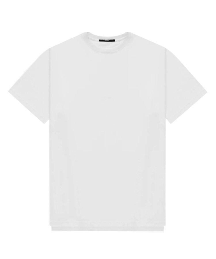 DOUBLE LAYER TEE / ホワイト [SLA-M2484TE]