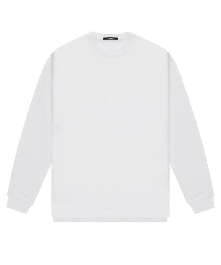 LS DOUBLE LAYER TEE / ホワイト [SLA-M2485LT]