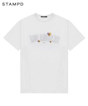 LOS ANGELES LOVE TEE / ホワイト [SLA-M2487TE]