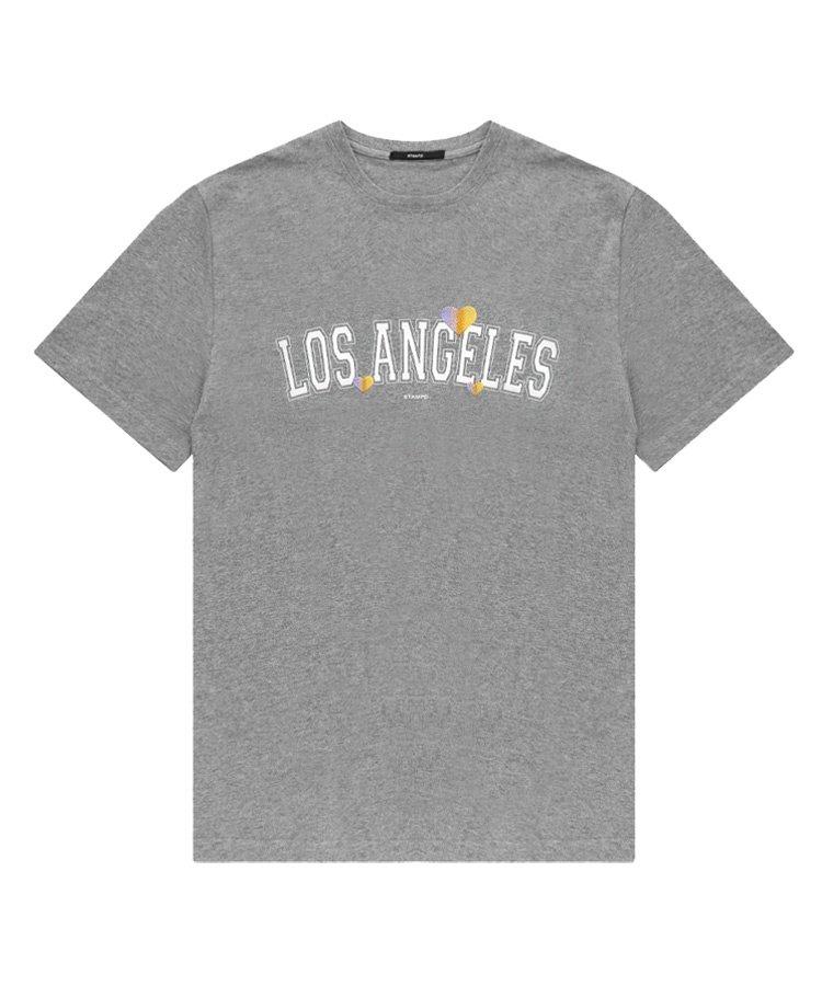 LOS ANGELES LOVE TEE / グレー [SLA-M2487TE]