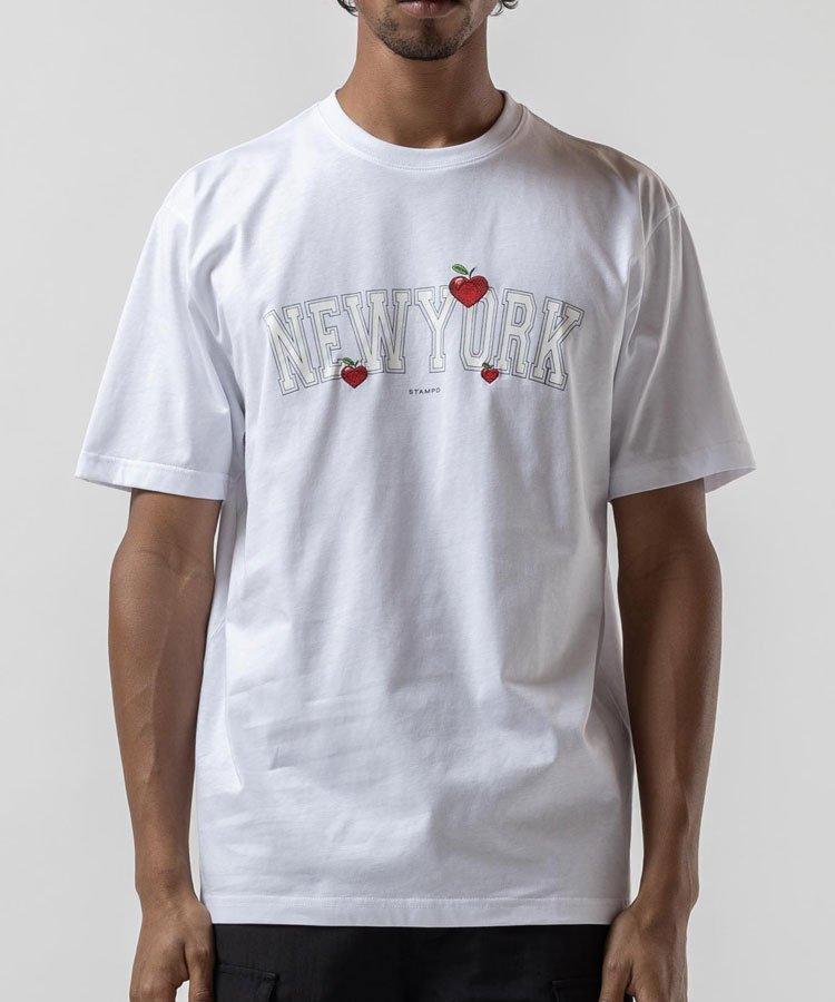 NEW YORK LOVE TEE / ホワイト [SLA-M2599TE]