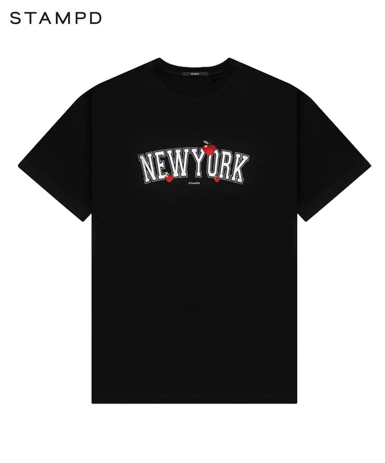 NEW YORK LOVE TEE / ブラック [SLA-M2599TE]
