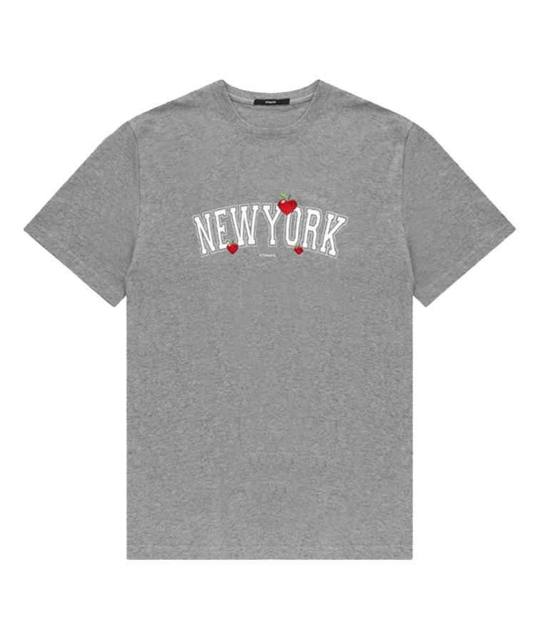 NEW YORK LOVE TEE / グレー [SLA-M2599TE]