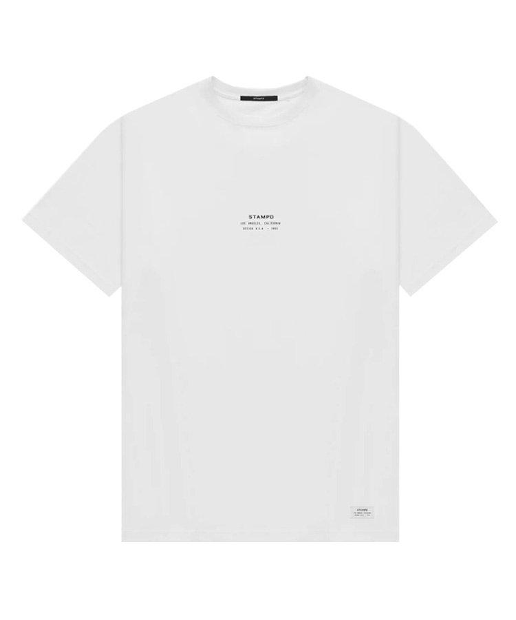 STACKED LOGO TEE / ホワイト [SLA-M2614TE]