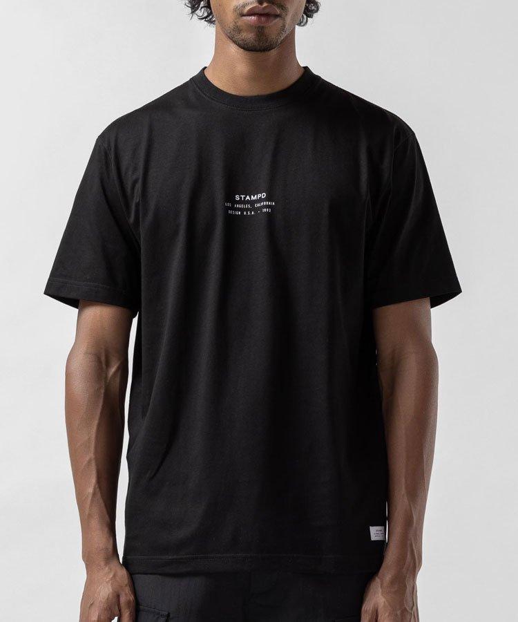 STACKED LOGO TEE / ブラック [SLA-M2614TE]