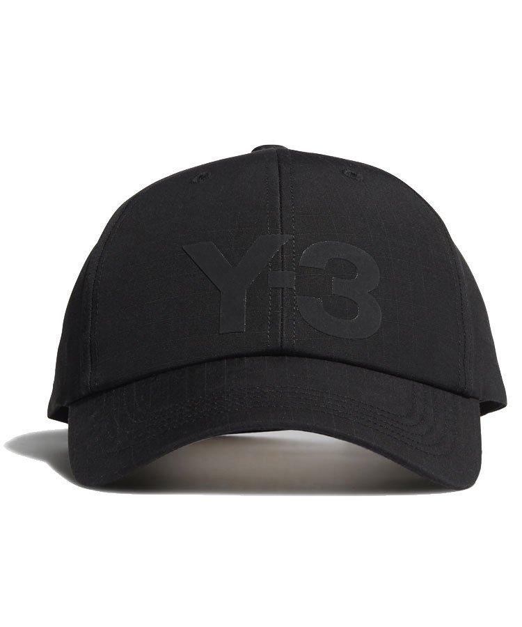 Y-3 RIPSTOP LOGO CAP / ブラック [GT6381]
