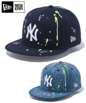 59FIFTY ニューヨーク・ヤンキース スプラッシュエンブロイダリー / 2カラー