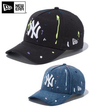 9FORTY A-Frame ニューヨーク・ヤンキース スプラッシュエンブロイダリー / 2カラー