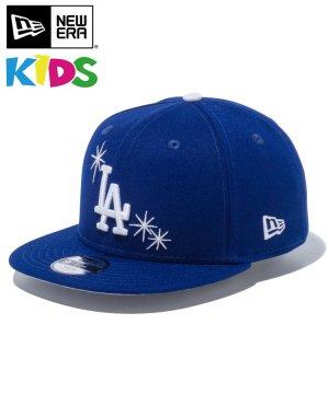 Kid's Youth 9FIFTY ロサンゼルス・ドジャース スパークル / ダークロイヤル グレーアンダーバイザー [12654173]