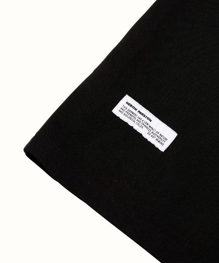 SS T-SHIRT ES OS HERONS / ブラック×ブルー [HMAR21-017]