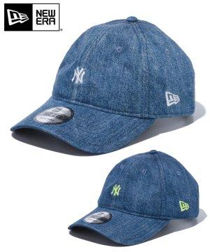 9THIRTY ニューヨーク・ヤンキース デニム & ヒッコリー ミニロゴ / 2カラー