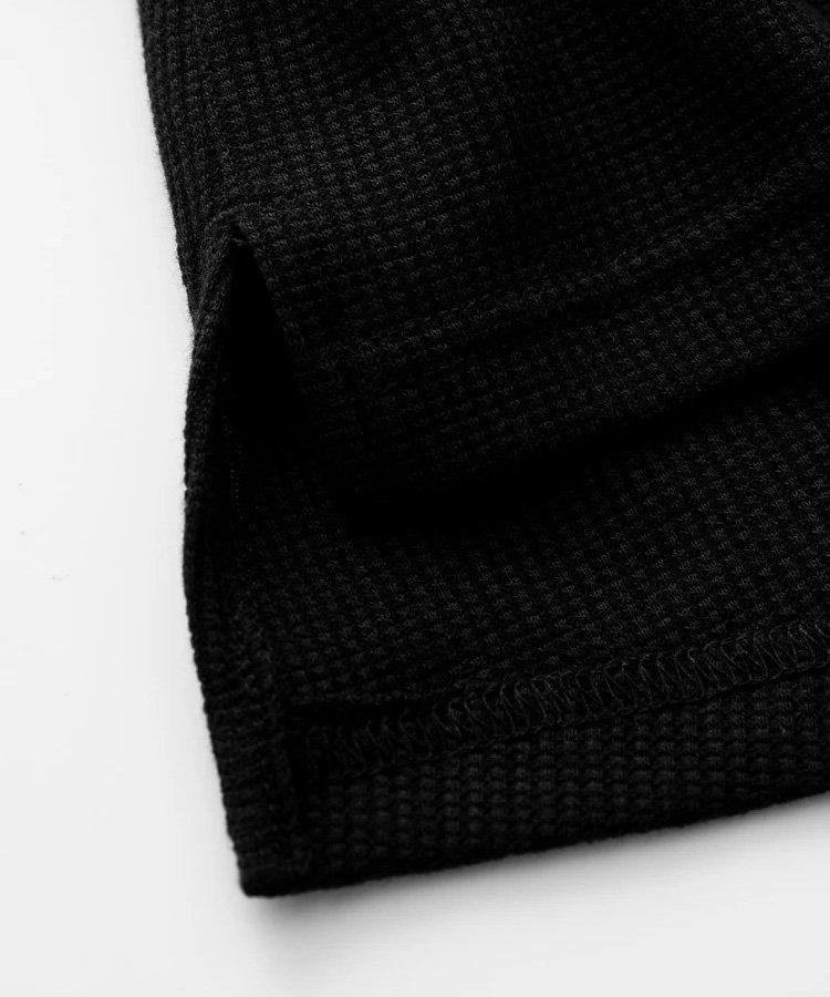 PANEL RELAXED TEE / ブラック [SLA-M2506TE]