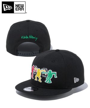 <img class='new_mark_img1' src='https://img.shop-pro.jp/img/new/icons61.gif' style='border:none;display:inline;margin:0px;padding:0px;width:auto;' />9FIFTY Keith Haring キース・へリング 3メンズ / ブラック [12653703]