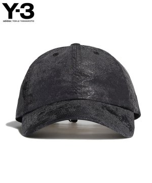 Y-3 DISTRESSED REFLECTIVE CAP / ブラック [GQ5983]