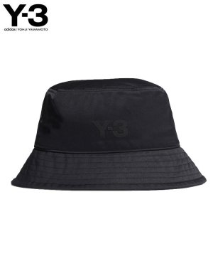 Y-3 CL BUCKET HAT / ブラック [GQ3279]