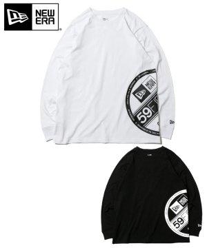 長袖 コットン Tシャツ ズームアップ バイザーステッカー リラックスフィット / 2カラー