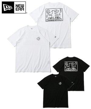 半袖 コットン Tシャツ Keith Haring キース・へリング ドッグ レギュラーフィット / 2カラー