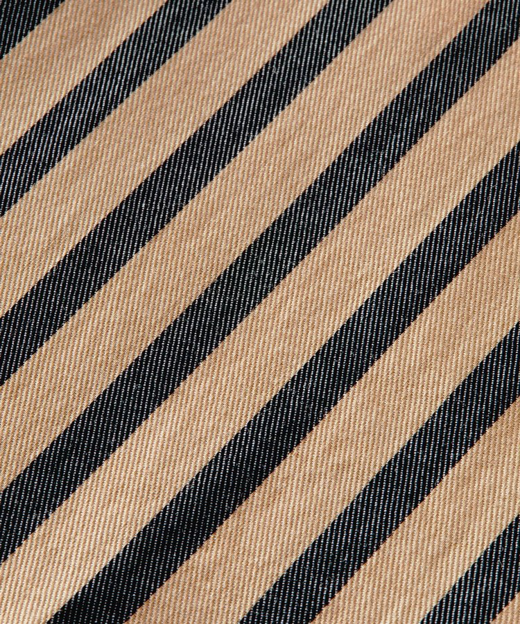 Striped regular-fit cotton shirt / ストライプ [292-31410]