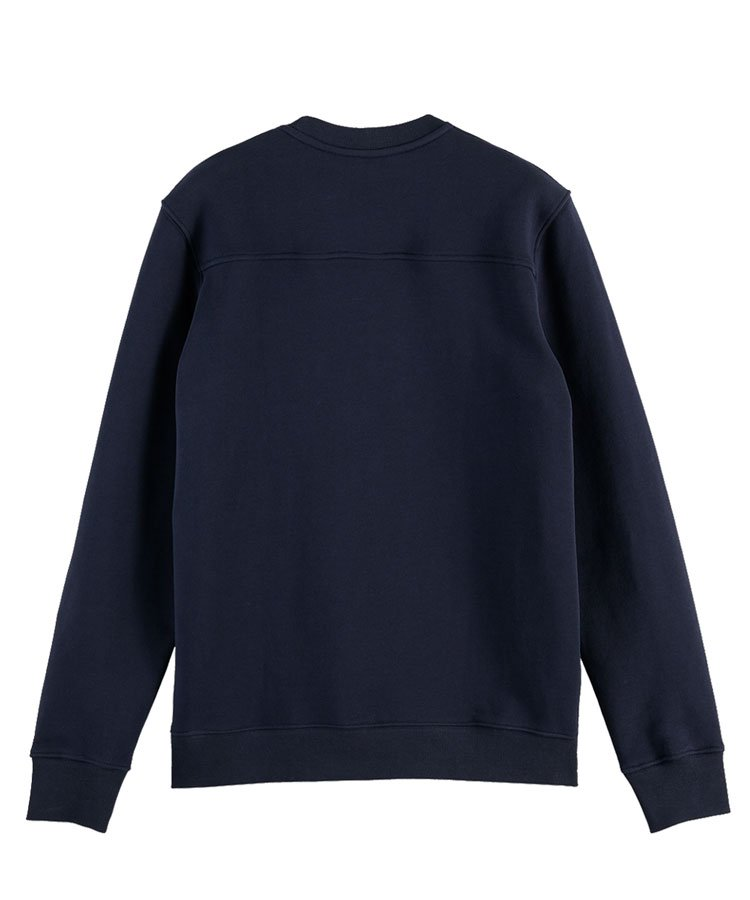 Organic cotton sweater / ネイビー [292-33800]