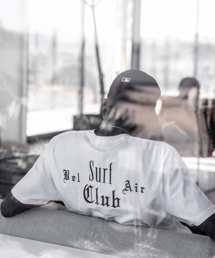 BEL AIR SURF CLUB PERFECT TEE / ホワイト [SLA-M2620TE]