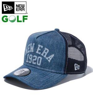 【ゴルフ】 9FORTY A-Frame トラッカー NEW ERA 1920 / ウォッシュドデニム [12674574]