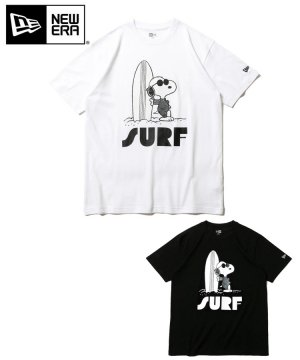 半袖 コットン Tシャツ PEANUTS ピーナッツ ジョー・クール サーフ レギュラーフィット / 2カラー