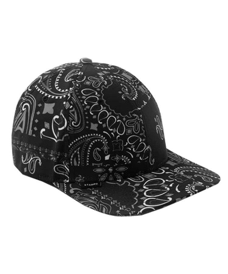 SSPORT CAP PAISLEY / ブラック [SLA-U2659HT]