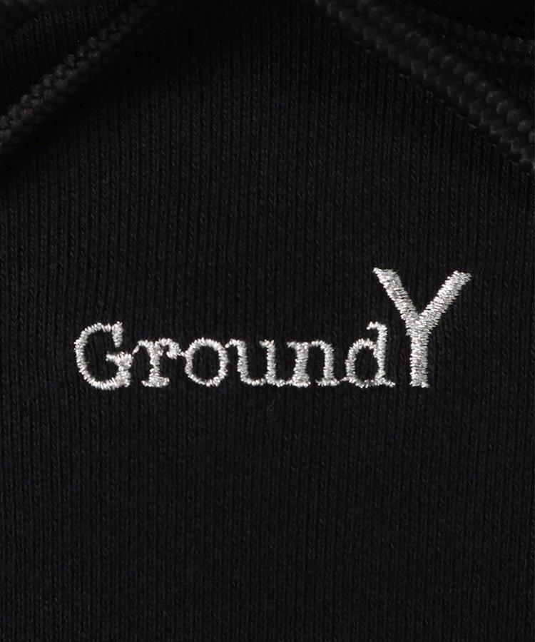Ground Y×NEW ERA Collection Logo Hoodie / ブラック [GT-T85-095-1-03]