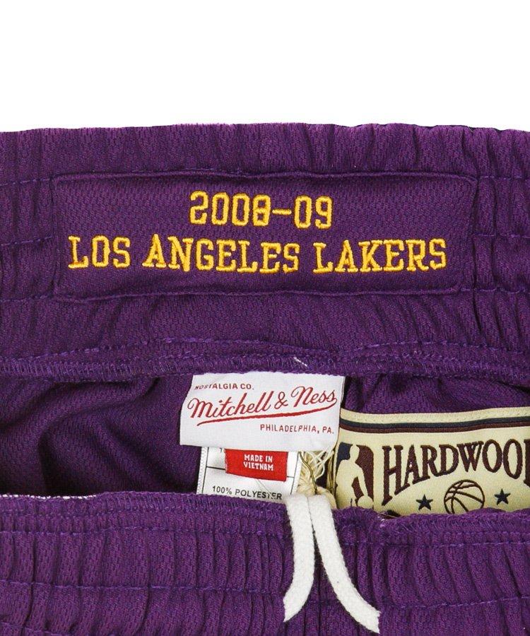Authentic Shorts : Los Angeles Lakers Road 2008-09 / パープル [ASHRGS18039-LALPURP08]