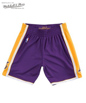<img class='new_mark_img1' src='https://img.shop-pro.jp/img/new/icons5.gif' style='border:none;display:inline;margin:0px;padding:0px;width:auto;' />Authentic Shorts : Los Angeles Lakers Road 2008-09 / パープル [ASHRGS18039-LALPURP08]